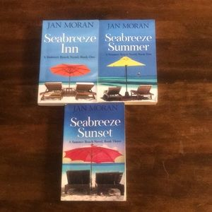 Jan  Moran A Summer Beach Series of 3 Book